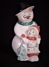 Russische Porzellanfigur Schneemann Porzellan