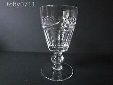 STUART CRYSTAL ARUNDEL PATTERN SHERRY GLASSES - SIGNED (Ref1409)