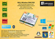 Dell dw1703 802.11n Bluetooth 4.0 Atheros ar9485 wb225 ar5b225 PCI-Express
