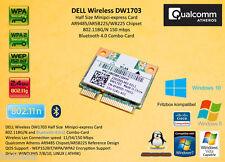 Dw1703 de Dell 802.11n Bluetooth 4.0 Atheros ar9485 wb225 ar5b225 MiniPCI-Express