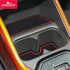 Gate slot pad Car Mat Anti Slip For SUZUKI IGNIS Interior Door Pad/Cup 15CPS RED