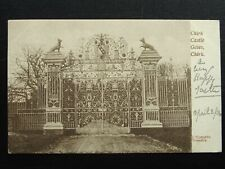 More details for shropshire chirk castle gates near oswestry c1904 postcard by j. maclardy
