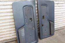 BMW e30 325i 325e 318i indigo blue cloth houndstooth front door panels.