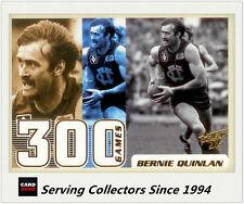 2003 Select AFL XL Series 300 Game Case Card Cc8 Bernie Quilan (fitzroy)