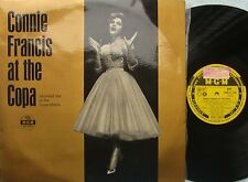 Connie Francis ORIG OZ Promo LP At the Copa VG+ '61 MGM 027569 MONO Vocal Pop