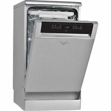 Whirlpool ADP502IXUK 45cm Slim Stainless Steel Freestanding Dishwasher 10 Place