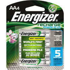 Energizer Recharge AA Rechargeable Batteries 2300mAh 4 Batteries Each