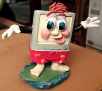 "Collectable Vintage Minster Giftware Novelty Desk Item ""Surf The Web""  VGC"
