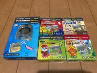 Pokemon mini Console and 5 Games Set
