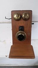 Very Rare NORTHERN ELECTRIC Oak Crank Telephone