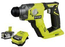 RYOBI R18SDS Akku-Bohrhammer SDS-plus RBC18L40 Akku 4.0Ah + Ladegerat ONE + NEU
