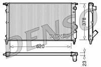 Denso Motor Radiador de Refrigeración Para un Renault 21 Hatchback 1.7 65KW