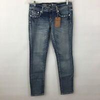 Antique Rivet Jeans Womens 29 embellished Sophia Skinny NWT Vault Denim