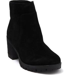 Korks Esmeralda Ankle Bootie Black Women's EUR 41 US 9.5