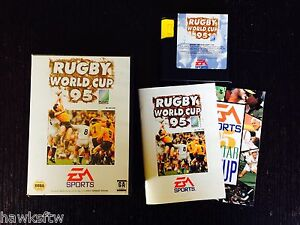 RUGBY WORLD CUP 95 - COMPLETE - SEGA MEGA DRIVE