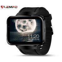 LEMFO LEM4 Bluetooth Smart Watch Phone Heart Rate For Android  GPS WiFi 3G SIM