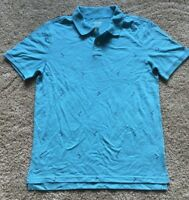 Mens Blue Short Sleeve Mossimo Polo Top XL