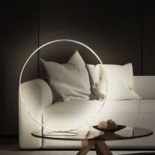30xLED Tisch Lampe Wohn Zimmer Beleuchtung Ring Strahler Chrom Schalter Leuchte