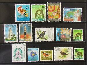 Sri Lanka Postage Stamps 14 used unmounted