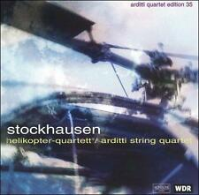 KARLHEINZ STOCKHAUSEN Helikopter-Streichquartett CD ARDITTI STRING QUARTET