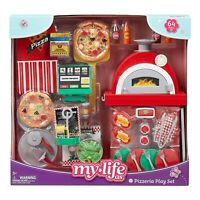 """My Life As Pizzeria Play Set  For 18"""" Dolls, - 64 Pieces Included Ships Fast"""