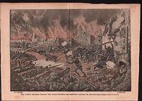 WWI Poilus Tranchées Neuville-Saint-Vaast bataille de l'Artois 1915 ILLUSTRATION