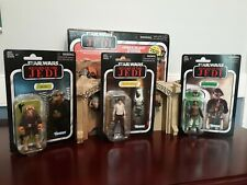 Star Wars Vintage Collection Jabba's Palace w/ Han Solo Ree Yees + Lando Skiff