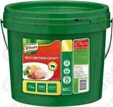 Knorr Gravy Sauce Rich Brown 7.5kg X 1
