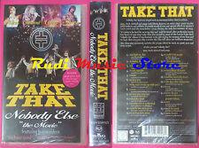 VHS TAKE THAT Nobody else the movie 1995 SIGILLATO BMG (VM3*) no mc dvd lp