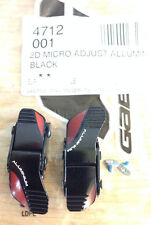 Gaerne - Couple Levers 2D Micro Adjust Aluminium Buckle Black-Red