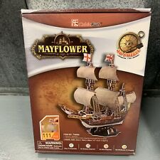 3D Jigsaw Puzzle CubicFun Puzzle 111 Pieces  MAYFLOWER