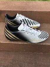 Adidas Predator Absolado SG Football Boots UK 11.5 White/Black/gold EUR 46 2/3