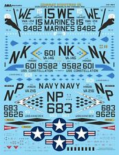 AOA decals 1/32 COMBAT SCOOTERS (3) USN/USMC A-4C Skyhawks Vietnam (DECALS ONLY)