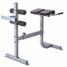 Situp 45 Degree Hyper Extension Lower Back Exercise Padded Roman Chair 300 lbs