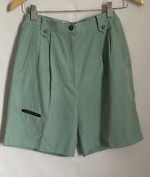 Jamie Sadock Womens Size 6 Luxury Golf Shorts Pockets Spearmint Green Teal