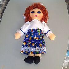 Vintage 70's  bambola   Tipo Panno Lenci Stoffa dolls