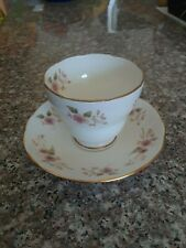 Dutchess fine bone china cup & saucer floral pattern made in England