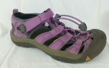 Keen Sport Sandals Purple Gray Hiking Waterproof Shoes Girls 4 Youth Womens 7 M