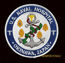 OKINAWA JAPAN US NAVAL HOSPITAL PATCH PIN UP US NAVY CORPSMAN DOCTOR DOC NURSE