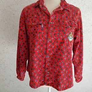 Oilily Bluse aus Feincord Vintage Größe 164 (38-40), top Zustand