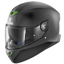 Nuevo casco SHARK SKWAL 2-Negro Mate Casco de Motocicleta con sistema de luz LED ZQ