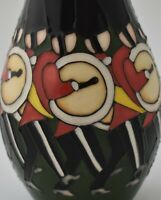 Moorcroft Pottery Vase - 12 Drummers Drumming By Kerry Goodwin (Christmas)