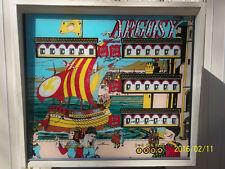 Vintage Argosy Arcade Pinball Machine Williams used repair project 216