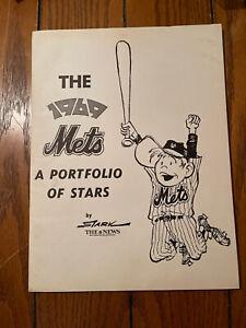 NY Mets-1969-A Portfolio Of Stars-20 portrait set by Bruce Stark🌟NY Daily News