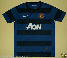 MANCHESTER UNITED / 2011-2012 Away - NIKE - JUNIOR Shirt/Jersey. 12-13y, 152-158