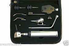 ENT  Otoscope / Ophthalmoscope Nasal Larynx Diagnostic Set