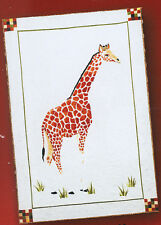 Strolling Giraffe Pattern - African animal Wall Hanging  The Pattern Place