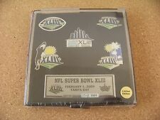 2009 SB Super Bowl 43 XLIII theme 5 - pin set Number is 0514 not as pictured