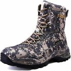 cungel Men's Hunting Boot 8-INCH Camouflage Timber Waterproof Hunter Shoes Fores