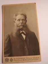 Köln - 1904 - Ernst von Boetticher als Mann mit Bart - Adel - Portrait / CDV